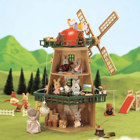 風の丘のお家