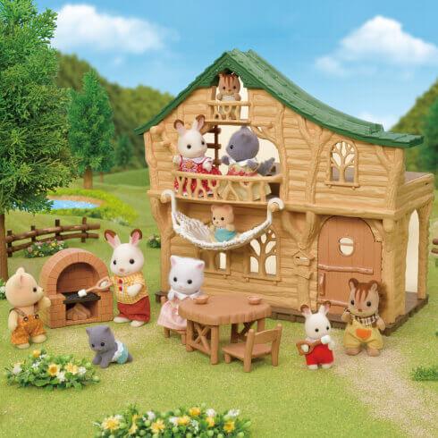 森のわくわくログハウス
