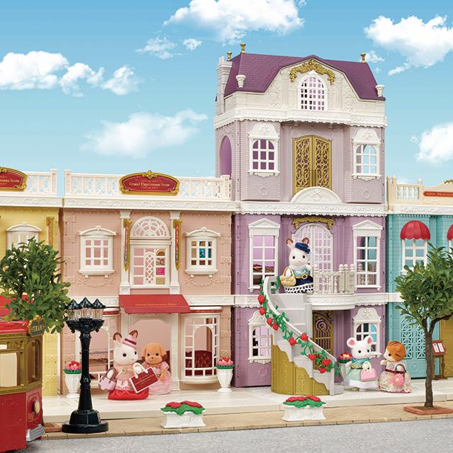 街のおしゃれなグランドハウス
