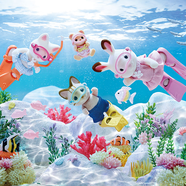 Calico Critters Summer