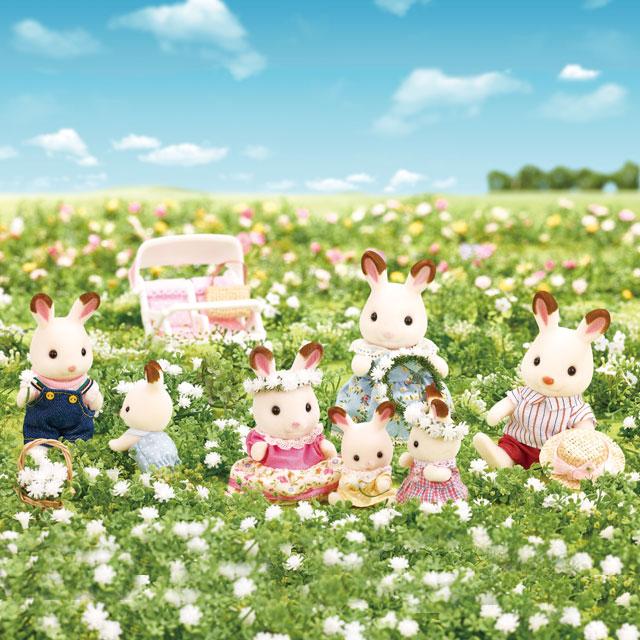 みんなでお花のかんむりをつくろう!