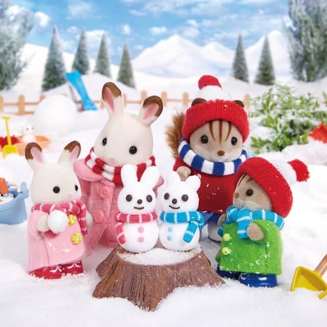 みんなで作ろう!かわいい雪だるま