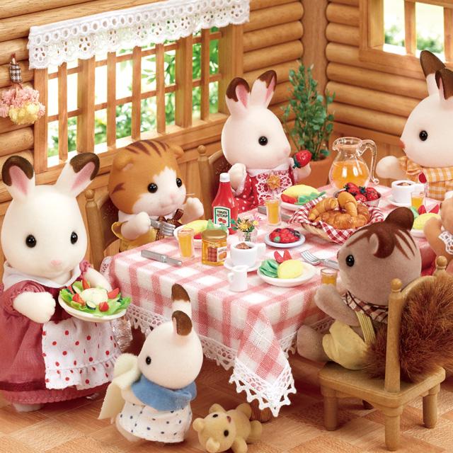 夏休みはコテージにお泊り!今日もたくさんあそぼう♪