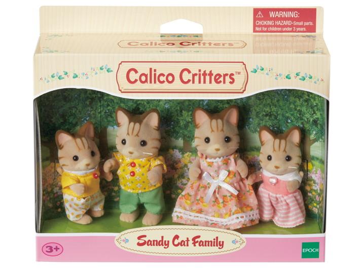 Sandy Cat Family - 2