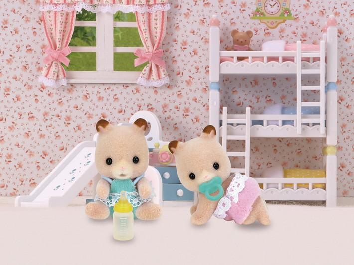 Fluffy Hamster Twins - 3
