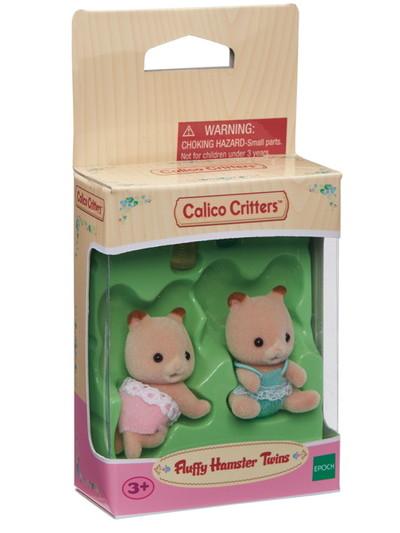 Fluffy Hamster Twins - 2