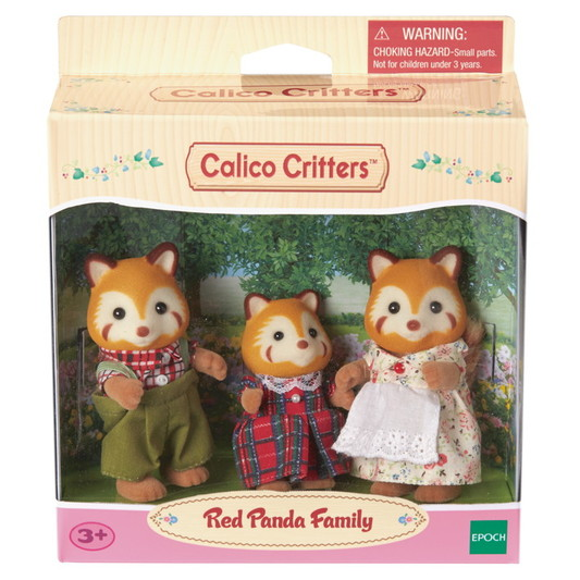 Red Panda Family  - 2