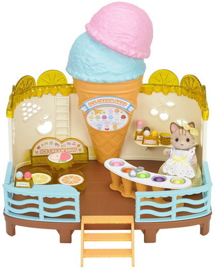 Seaside Ice Cream Shop