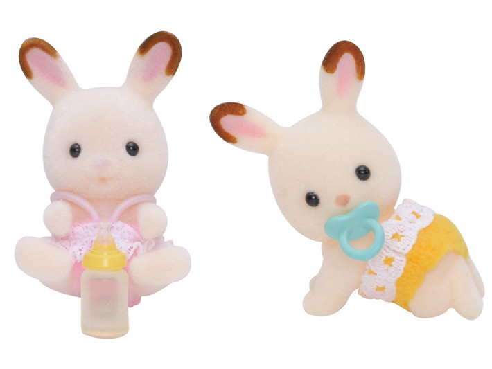 Hopscotch Rabbit Twins - 1