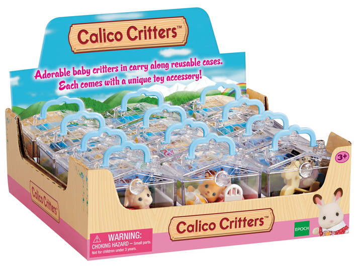 Critters in Mini Carry Cases - 1