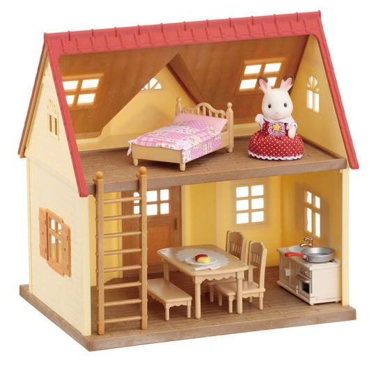 Cozy Cottage Starter Home. Cozy Cottage Starter Home Calico Critters