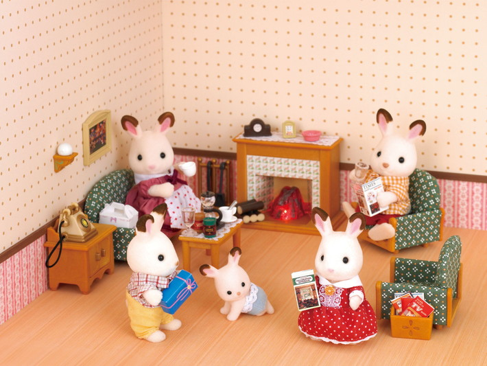 deluxe living room set | calico critters