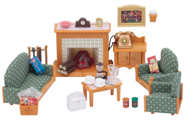 Deluxe living room set calico critters for Best living room furniture for families