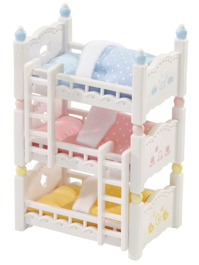 Triple Baby Bunk Beds - 1