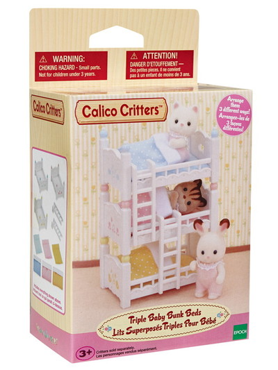 Triple Baby Bunk Beds - 2