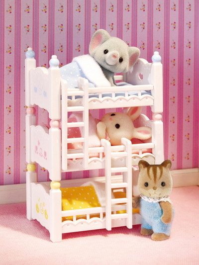 Triple Baby Bunk Beds - 4