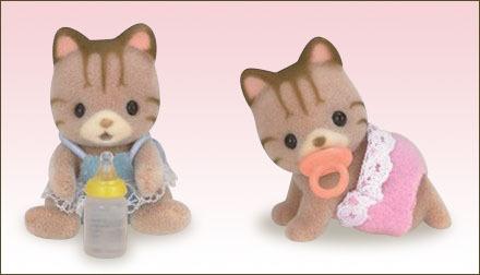 虎紋貓孖生BB - 3