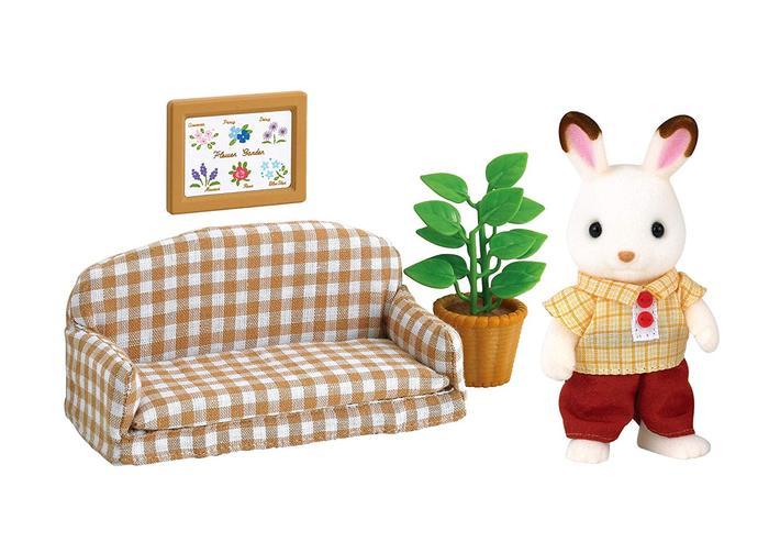ショコラウサギのお父さん 家具セット - 4