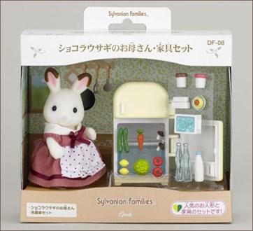 ショコラウサギのお母さん 家具セット - 3