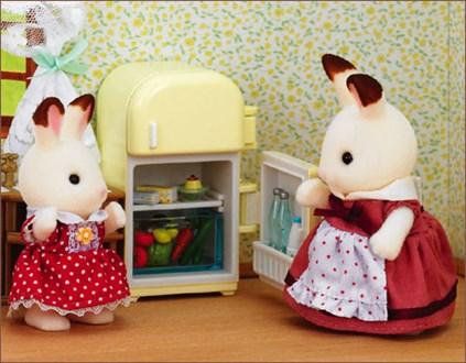 朱古力兔媽媽與家具套裝 - 3