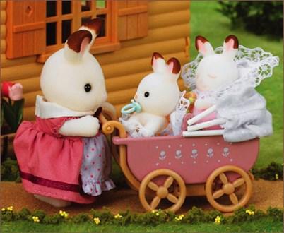 ショコラウサギのふたごちゃん 家具セット - 3