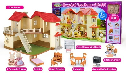 Cloverleaf Townhome Gift Set Calico Critters
