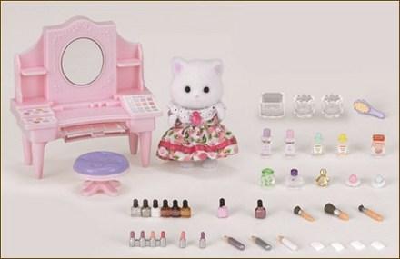 波斯貓化妝檯套裝 - 4