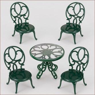 ガーデンテーブルチェアーセット - 4