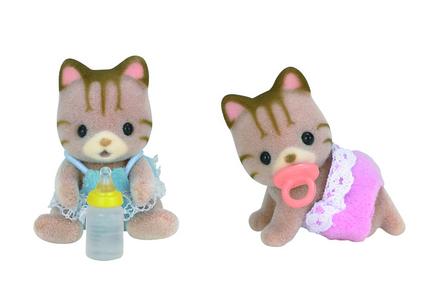Sandy Cat Twins