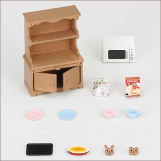 食器棚・オーブンレンジセット - 4