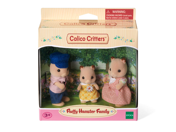 Fluffy Hamster Family - 3
