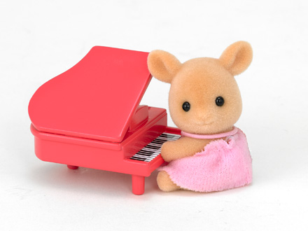 Deer Baby with piano - 2