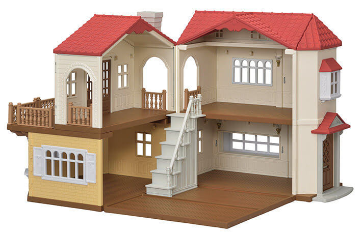 赤い屋根の大きなお家|シルバニアファミリー