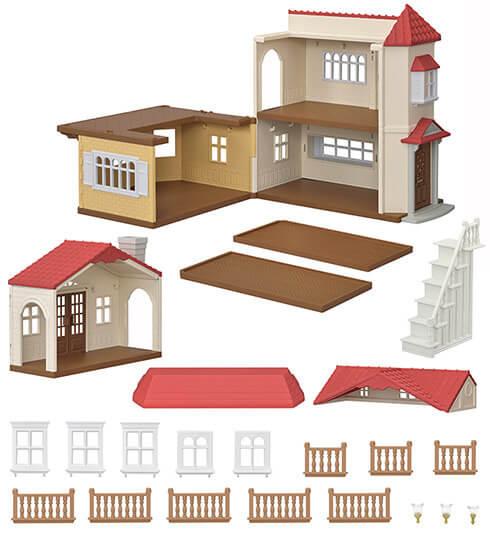 赤い屋根の大きなお家 - 14