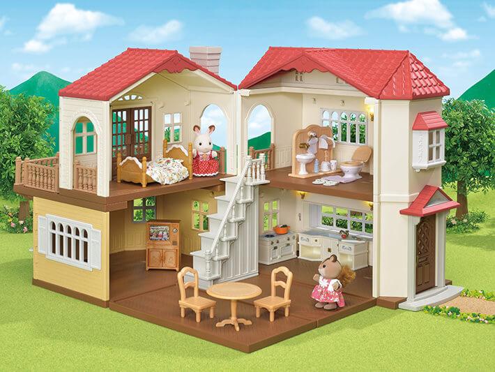 赤い屋根の大きなお家 おすすめ家具セット - 2