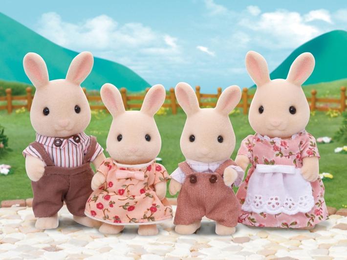 Sweetpea Rabbit Family - 3