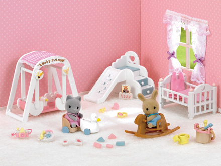Cat logo sylvanian families for Sylvanian chambre parents