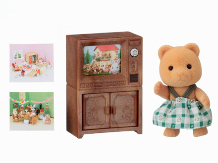 Irmã Urso com TV - 4