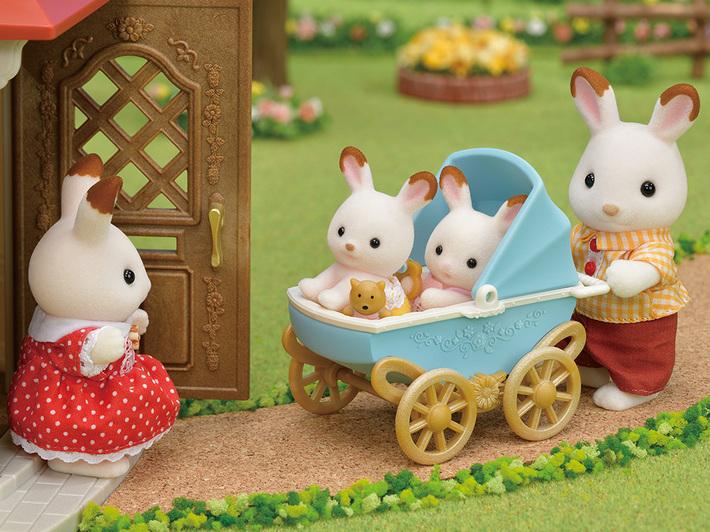 ショコラウサギのふたごちゃん・家具セット - 5