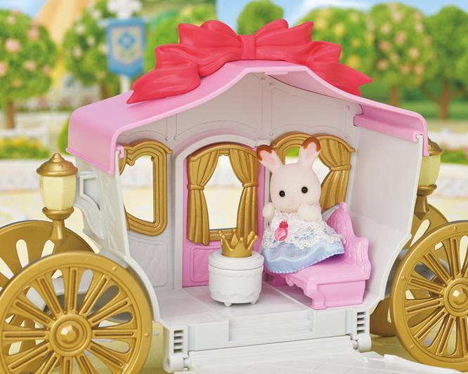 プリンセスとおしゃれ馬車セット - 8