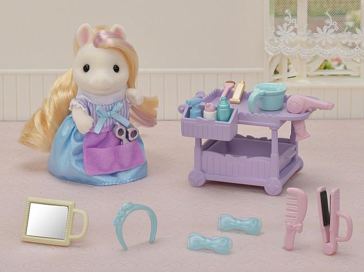 おしゃれなポニーの美容師さんセット - 12