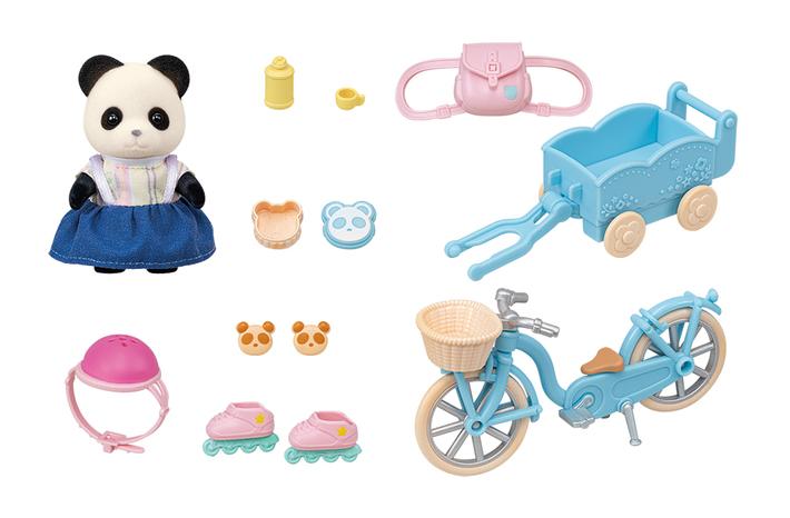 るんるんサイクリングセット-パンダの女の子- - 8