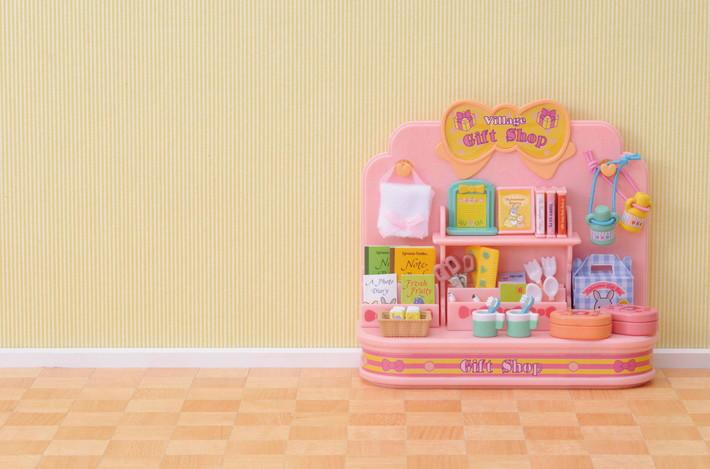 Mini negozio + 2 personaggi - 8