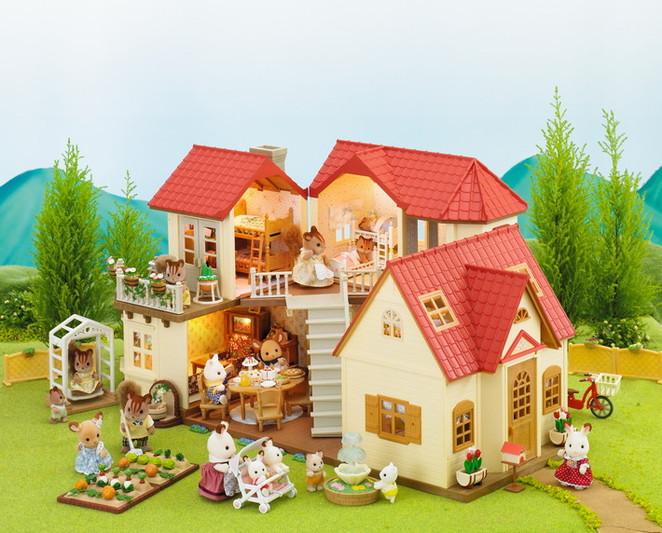 Casa accessoriata con 1 personaggio - 9
