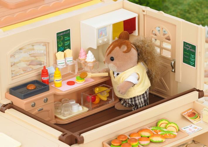 Furgoncino hamburger + 1 personaggio - 9