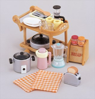 Catalog sylvanian families for Katalog kitchen set
