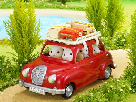 Sylvanian Voiture Cabriolet De Sylvanian