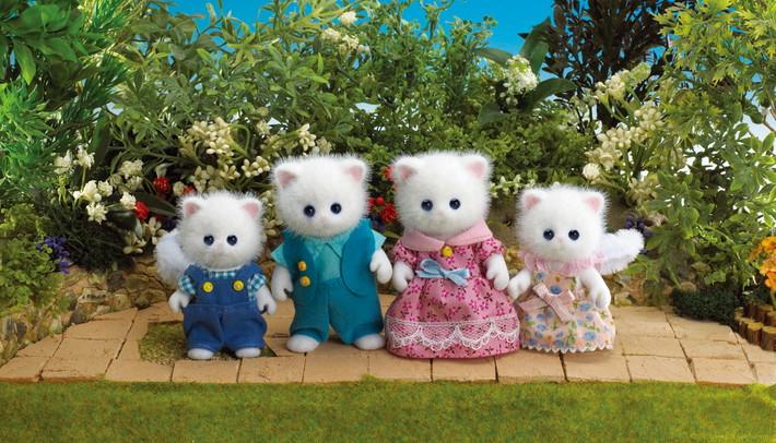 Famiglia gatti persiani - 5