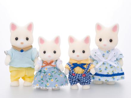 Silk Cat Family - 1