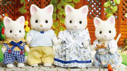 Silk Cat Family - 2